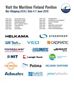 Finnish Maritime Industry represented at Nor-Shipping