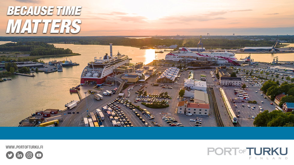 Port Of Turku Banneri